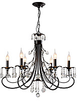 abordables -LightMyself™ Chic & Moderne Moderne / Contemporain Lustre Lampe suspendue Lumière d'ambiance - Cristal, 110-120V 220-240V Ampoule non