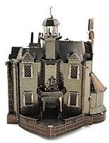 cheap -3D Puzzles Metal Puzzles Castle Creative Focus Toy Hand-made Metal Architecture Ghost Standing Style Toy Girls' Boys' Gift