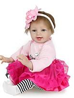 Недорогие -Куклы реборн Принцесса Девочки Дети Новорожденный как живой Милый стиль Детские Все Подарок