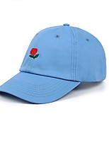cheap -Unisex Casual Basic Cotton Sun Hat Baseball Cap - Solid Colored Floral, Basic