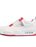 Недорогие -Муж. обувь Синтетика Весна Осень Удобная обувь Кеды для Повседневные на открытом воздухе Белый Красный