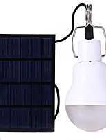cheap -S-1200 LED Light Bulbs LED 110 lm Mode LED with Battery Solar Power Energy Saving Camping/Hiking/Caving Everyday Use White