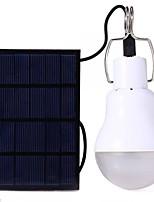 Недорогие -S-1200 Светодиодные лампы Светодиодная лампа 110 lm Режим LED с батареей Солнечная энергия Энергосберегающие Походы/туризм/спелеология