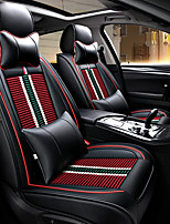 cheap -Car Seat Covers Seat Covers Textile PU Leather For universal All years All Models