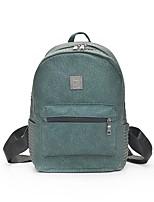 cheap -Women's Bags PU Backpack Rivet Zipper for Casual All Seasons Green Black Red