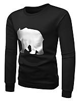 cheap -Men's Basic Sweatshirt - Geometric