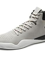 Недорогие -Муж. обувь Нубук Осень Зима Удобная обувь Кеды для Повседневные Черный Серый
