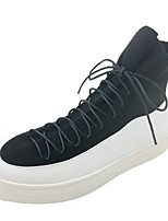 cheap -Men's Shoes Synthetic Microfiber PU Winter Comfort Sneakers for Casual Black