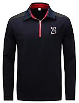cheap -Men's Polo - Solid Shirt Collar