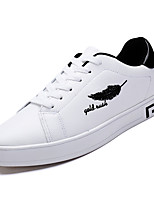 cheap -Men's Shoes Rubber Spring Fall Comfort Sneakers for Outdoor Black/White White/Green