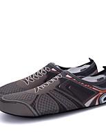 Недорогие -Муж. обувь Трикотаж Спандекс Ткань Весна Лето Светодиодные подошвы Мокасины и Свитер Дышащая спортивная обувь Для прогулок Для плавания