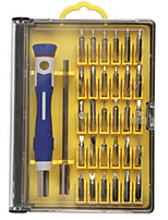 cheap -Cell Phone Repair Tools Kit 30 in 1 Screwdriver Extension Bit Screwdriver Sim Card Ejector Pin Replacement Tools Mobile Phone