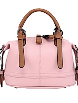 cheap -Women's Bags PU Tote Zipper for Event/Party Casual All Seasons Blue Black Blushing Pink Khaki