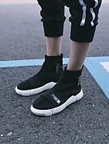 economico -Per uomo Scarpe Tulle Autunno Inverno Comoda Sneakers per Casual Nero