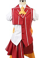 Недорогие -Вдохновлен Macross Frontier Косплей Аниме Косплэй костюмы Косплей Костюмы другое С короткими рукавами Рубашка Кофты Юбки лук Больше