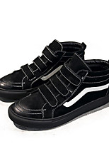 cheap -Men's Shoes Pigskin Spring Fall Comfort Sneakers for Casual Black