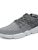 cheap -Men's Shoes Tulle Spring Summer Comfort Sneakers for Casual Outdoor Black Gray Blue