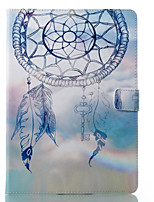 cheap -Case For Apple iPad 10.5 iPad (2017) Wallet with Stand Flip Pattern Auto Sleep/Wake Up Full Body Cases Dream Catcher Hard PU Leather for