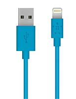 Недорогие -Подсветка Адаптер USB-кабеля Быстрая зарядка Высокая скорость Кабель Назначение iPhone 120 cm TPE