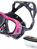 abordables -Masque de Nage Masque de Snorkeling Niveau professionnel Confortable Natation Plongée Verre Trempé - V.DIVE Vertical
