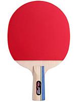 economico -Ping-pong Racchette Ping Pang Legno Gomma da cancellare Manopola corta Brufoli DHS®