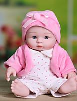 Недорогие -Куклы реборн Новый дизайн Принцесса Новорожденный как живой Милый стиль Полный силикон для тела Все Подарок