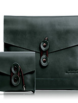 """Недорогие -Рукава для Сплошной цвет Настоящая кожа Новый MacBook Pro 13"""" MacBook Air, 13 дюймов MacBook Pro, 13 дюймов"""
