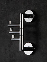 abordables -Barre porte-serviette Pliable Multicouche Multifonction Haute qualité Moderne Laiton 1pc - Bain d'hôtel Montage mural