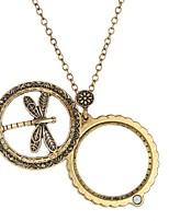 Недорогие -Муж. Жен. Ожерелья с подвесками - Массивный, Винтаж, Этнический Античная бронза Ожерелье Бижутерия 1 Назначение Подарок, Повседневные