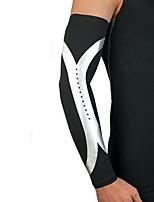 Недорогие -Защитная экипировка Поддержка локтя Компрессионные рукава для Баскетбол Бег Универсальные Ударопрочный Non-Slip спорт Одежда для отдыха
