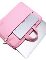 Недорогие -Рукава для Сплошной цвет Кожа PU Металл MacBook Air, 13 дюймов MacBook Pro, 13 дюймов