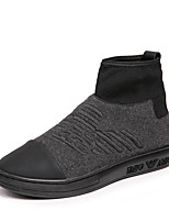 cheap -Men's Shoes Fleece Spring Fall Comfort Sneakers for Casual Outdoor Gray