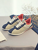 cheap -Men's Shoes Fabric Fall Winter Comfort Sneakers for Casual White Gray