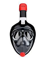 abordables -Masque de Snorkeling Masques de plongée Anti buée Longueur ajustable Non-allergénique Natation Plongée résine ABS