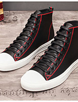cheap -Men's Shoes Cowhide Winter Fall Comfort Sneakers for Casual Outdoor Black