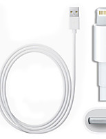cheap -Lightning USB Cable Adapter Portable Quick Charge For iPhone 100 cm Plastics PVC