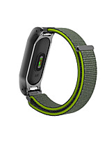 cheap -Watch Band for Mi Band 2 Xiaomi Sport Band Metal Nylon Wrist Strap