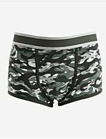 cheap -Men's Boxers Underwear - Print, Camouflage Mid Waist