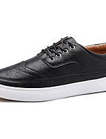 cheap -Men's Shoes PU Spring Fall Comfort Sneakers for Casual Black Gray Camel