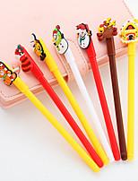 cheap -Gel Pen Pen Pen, Plastics Black Ink Colors For School Supplies Office Supplies Pack of 12