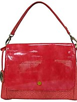 cheap -Women's Bags PU Wristlet Shoulder Bag Crystal Detailing Zipper for Shopping Casual Office & Career All Seasons Red Yellow