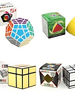 cheap -Rubik's Cube 4 PCS Shengshou 7182A-1 7172A-2 7097A-1 7099A-4 Alien 3*3*3 2*2*2 Smooth Speed Cube Magic Cube Puzzle Cube Smooth Sticker 4