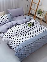 abordables -Ensembles housse de couette Géométrique 3 Pièces Polyester/Coton Polyester Imprimé Polyester/Coton Polyester 1 x Housse de couette 1 x