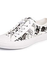 abordables -Homme Chaussures Cuir Printemps Automne Confort Basket pour Décontracté Noir