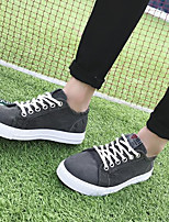 cheap -Men's Shoes Canvas Spring Fall Comfort Sneakers for Casual Dark Grey