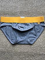 cheap -Men's Sexy Briefs Underwear Solid Colored