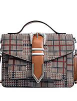 cheap -Women's Bags PU Tote Pattern / Print for Shopping Casual All Seasons Blue Black Brown