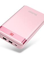 cheap -20000mAh Power Bank External Battery 5 Battery Charger QC 2.0 LED