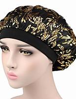 cheap -Women's Casual Cotton Floppy Hat - Geometric, Basic