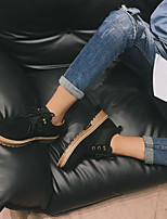 cheap -Men's Shoes Leatherette Spring Fall Comfort Sneakers for Casual Black Beige Yellow